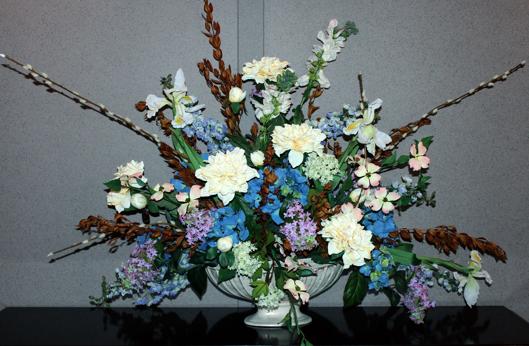 flowers inside – Twin Oaks Memorial Gardens & Funeral Home